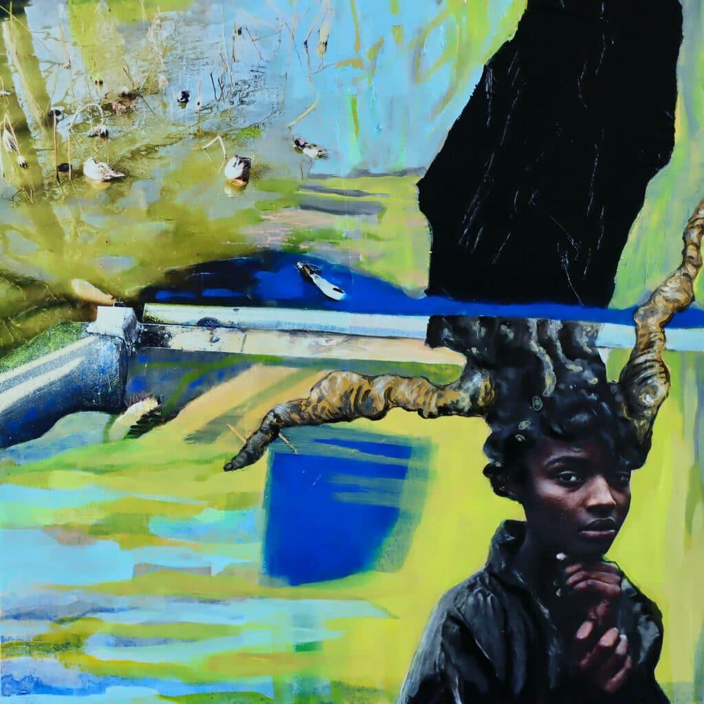 Malerei: Der Tod hat ein anderes Gesicht (1)